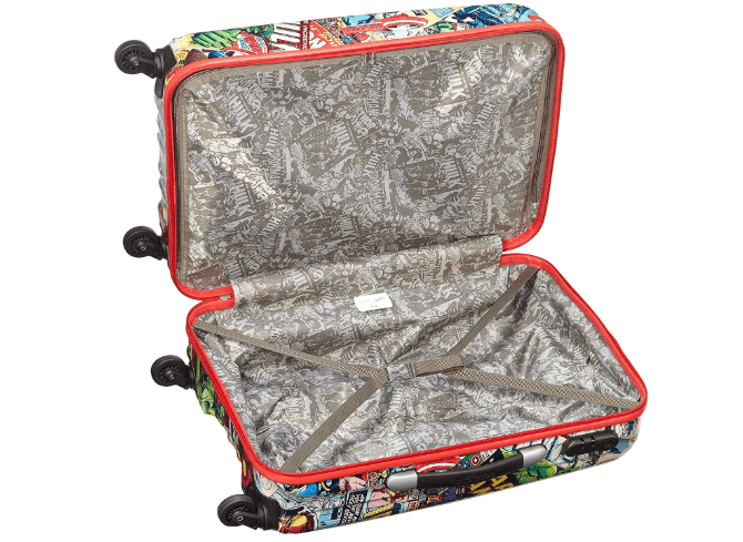 Interior american tourister marvel